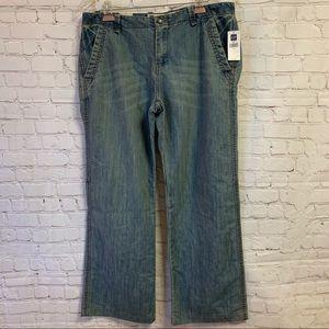 NWT Gap Vintage Jeans Zip Fly Zip Wide Leg